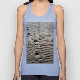 Pismo Beach Footprints Unisex Tank Top