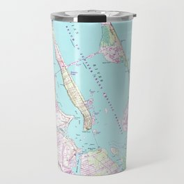 Vintage Map of Port St Lucie Inlet (1948) Travel Mug