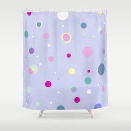 SWEET CANDY BERRY Shower Curtain