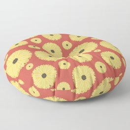 Daisies  Floor Pillow