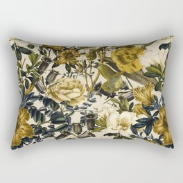 Warm Winter Garden Rectangular Pillow