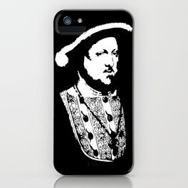 Henry VIII of England (ヘンリー8世) (Henry the eight) King of England 23B  iPhone Case