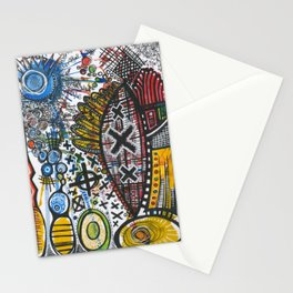 Feathers or Rockets Stationery Cards