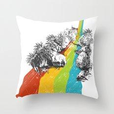 Eden Garden Throw Pillow