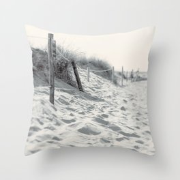 The Sand Between My Toes Throw Pillow