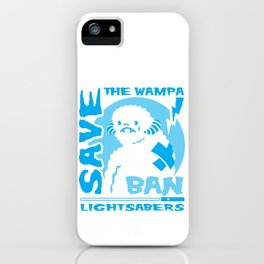 Save the Wampa iPhone Case