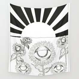 The Sun Card Wall Tapestry