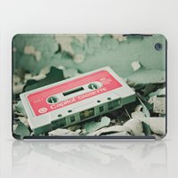 old school iPad Cases featuring Old School  by Riot Jane