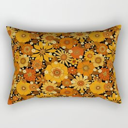 Come and get your love - orange Rectangular Pillow