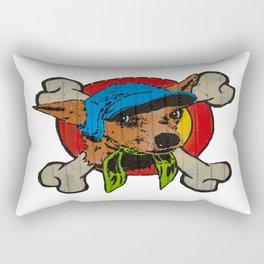 Brick Lane Artwork Rectangular Pillow