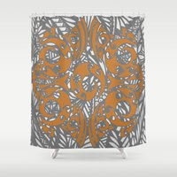 maori Shower Curtains featuring Maori Polynesian Style by Lonica Photography & Poly Designs