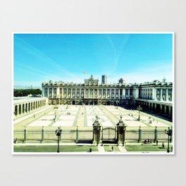 madrid royal palace Canvas Print