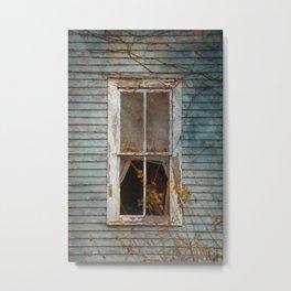 Sunbright Church Window Metal Print
