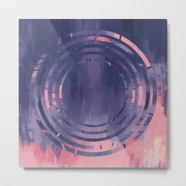 Full Circle | Minimalist | Abstract | Modern | Shapes | Geometrix Metal Print