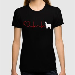 Heartbeat Lama Tee Shirt T-shirt