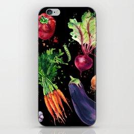 Art vegetables iPhone Skin