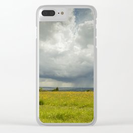 Impending Storm Clear iPhone Case