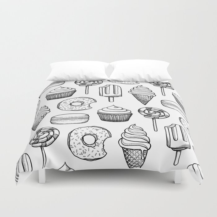 Sweets Duvet Cover