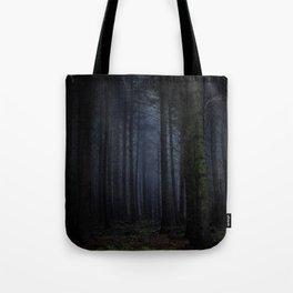 The Dark & Eerie Woods (Color) Tote Bag