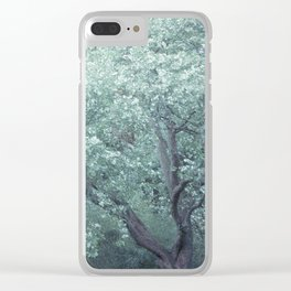 Monet Tree Clear iPhone Case