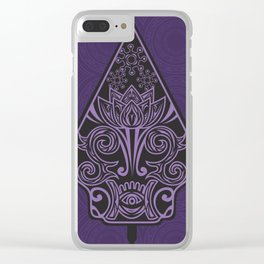 Wayang Clear iPhone Case