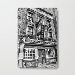 Prospect of Whitby Pub London 1520 Metal Print