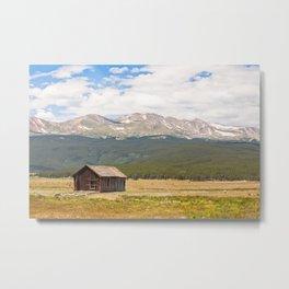 Colorado Barn Metal Print