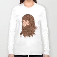 teen wolf Long Sleeve T-shirts featuring Teen Wolf by Joseph Botcherby