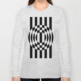 Hot Spot || Black & White Long Sleeve T-shirt