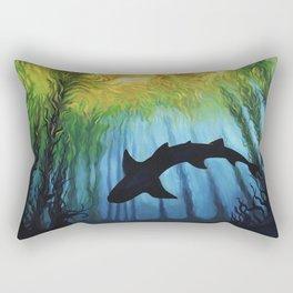 Kelp Forest II Rectangular Pillow
