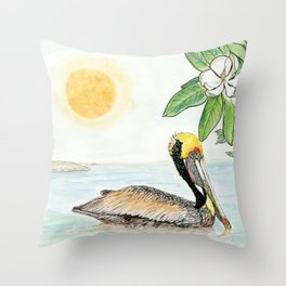 Louisiana Throw Pillow