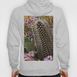 Banksia and Protea blooms Hoody