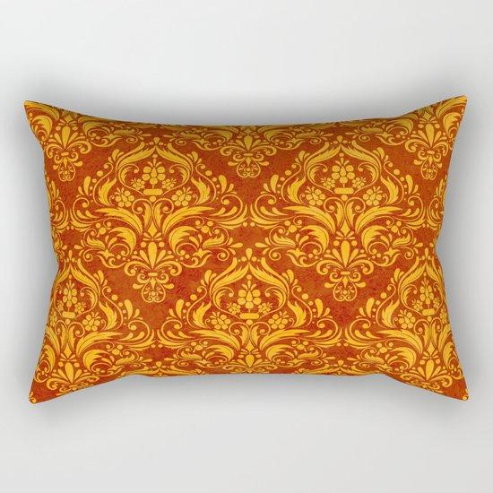 Halloween damask colors #2 Rectangular Pillow