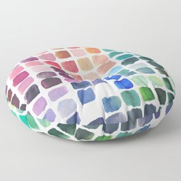 Favorite Colors Floor Pillow