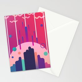 Invasion into normality Stationery Cards