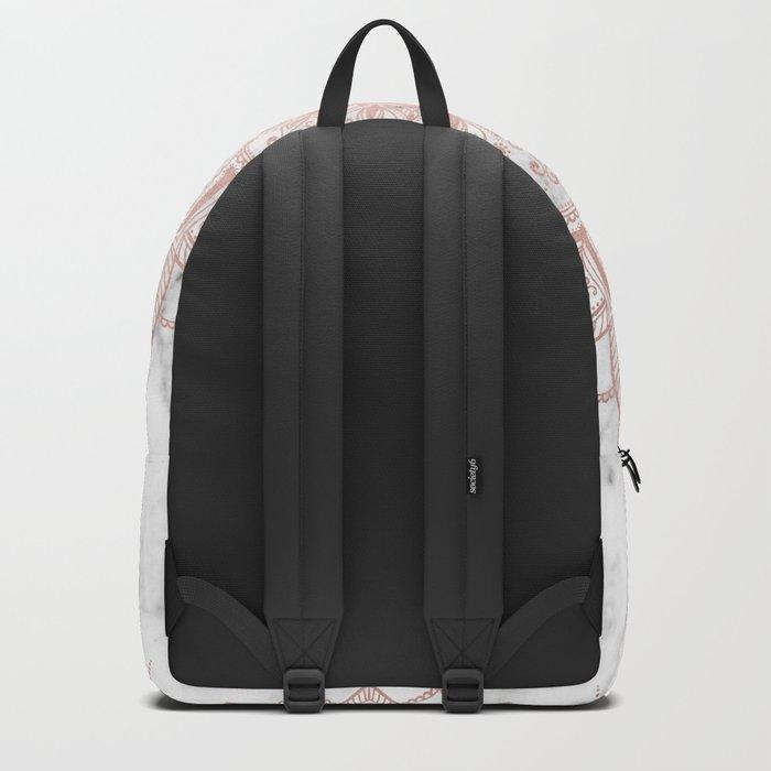 Pleasure Rose Gold Backpack