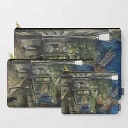 Postcards from Paris - Montmartre by Night: Le Moulin de la Galette Carry-All Pouch