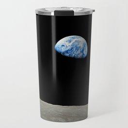Earthrise High Resolution Travel Mug