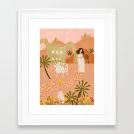 Safari Home Framed Art Print