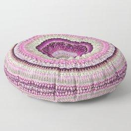 Pure Rose Mandala Floor Pillow
