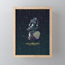 An Cailleach Framed Mini Art Print