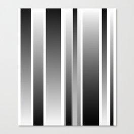 Color Black gray Canvas Print