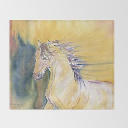 Horse Spirit Throw Blanket