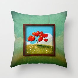 Through The Looking Glass - Hope Throw Pillow