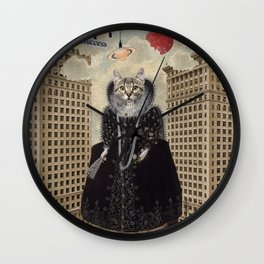Animal Collection -- Lost In The City Wall Clock