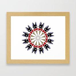 KIKI MANDALA Framed Art Print