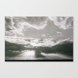 Glory of the West Canvas Print