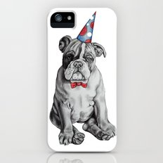 Party Dog iPhone (5, 5s) Slim Case