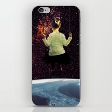 Girl from Space iPhone Skin