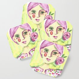 Lavender Lady Coaster
